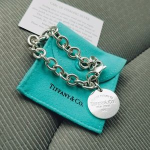 AUTHENTIC circle Tiffany & Co. Bracelet